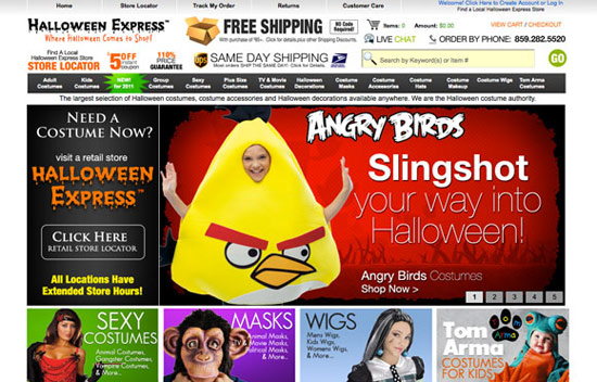 Halloween Express Marketing