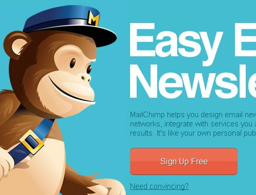 Mail Chimp Accent Colors for Conversion