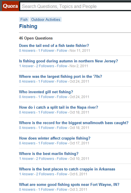 Using Quora Answers for Blog Topic Ideas