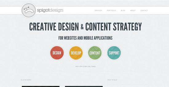 Spigot Design Home Page