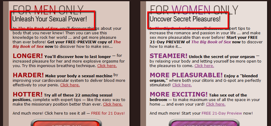 The image above is from one of their products?The Big Book of Sex.