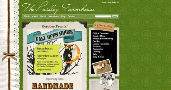 October Events!   The Paisley Farmhouse