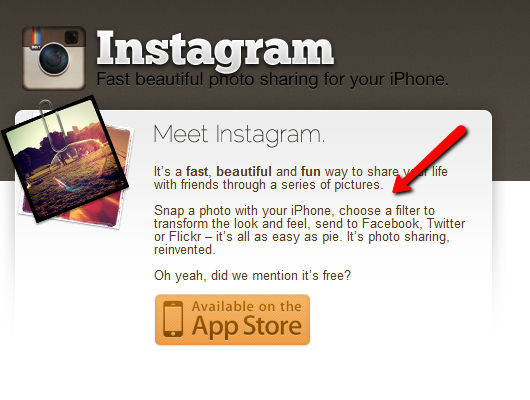 Instagram Copywriting