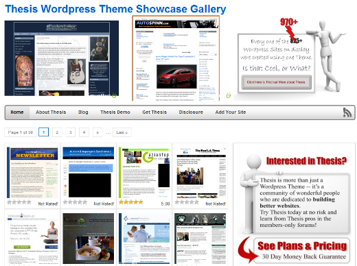 thesis theme showcase What makes a theme worthy of being considered the best premium wp this theme allows a business to showcase what it does best and gets its message across.