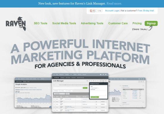 Raven Internet Marketing Tools