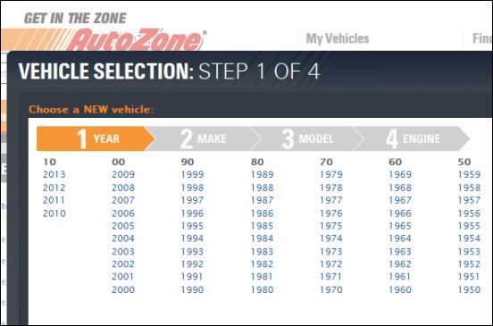 Auto Zone Navigation