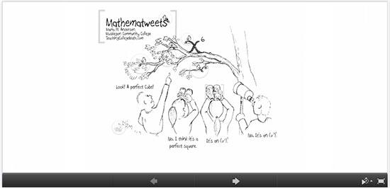 http://prezi.com/nsu8izuq8jxs/mathematweets/