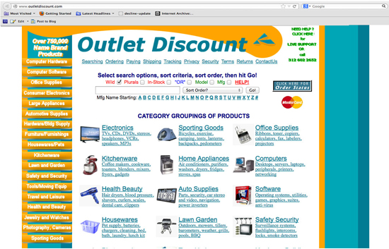 Outlet Discount new