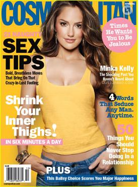 recent Cosmopolitan cover