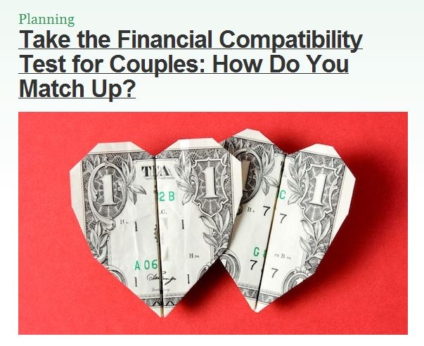 financial compatibility test