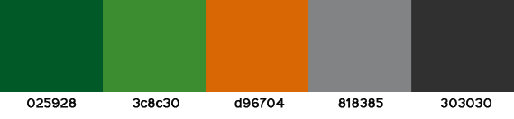 color palette from Frugal Rules