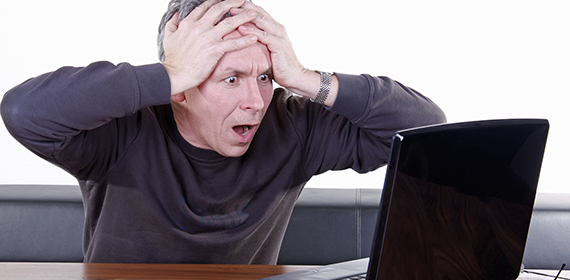 Computer-Crash