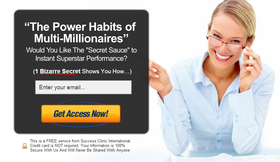 cta from power habits of multimillionaires