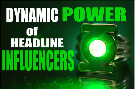 headline influencers feature