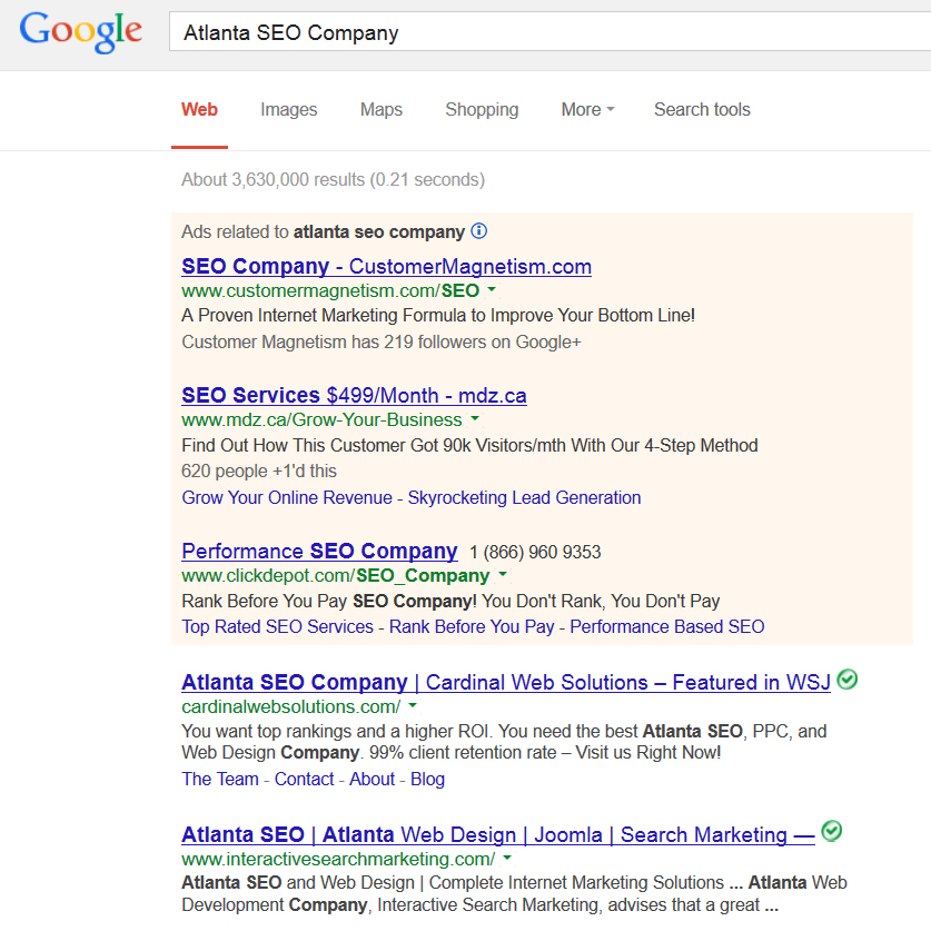 atlanta-seo-company-google-search