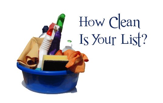 clean list