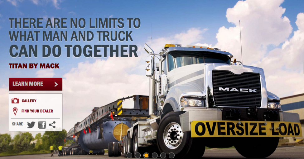 Conversion Page for Mack Truck Learn More