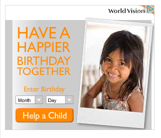 happy birthday world vision