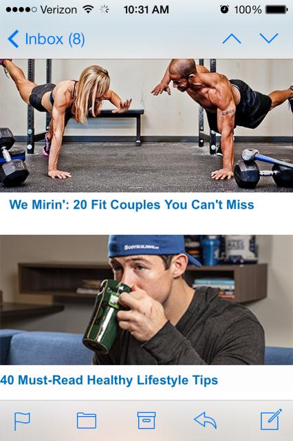 bodybuilding email