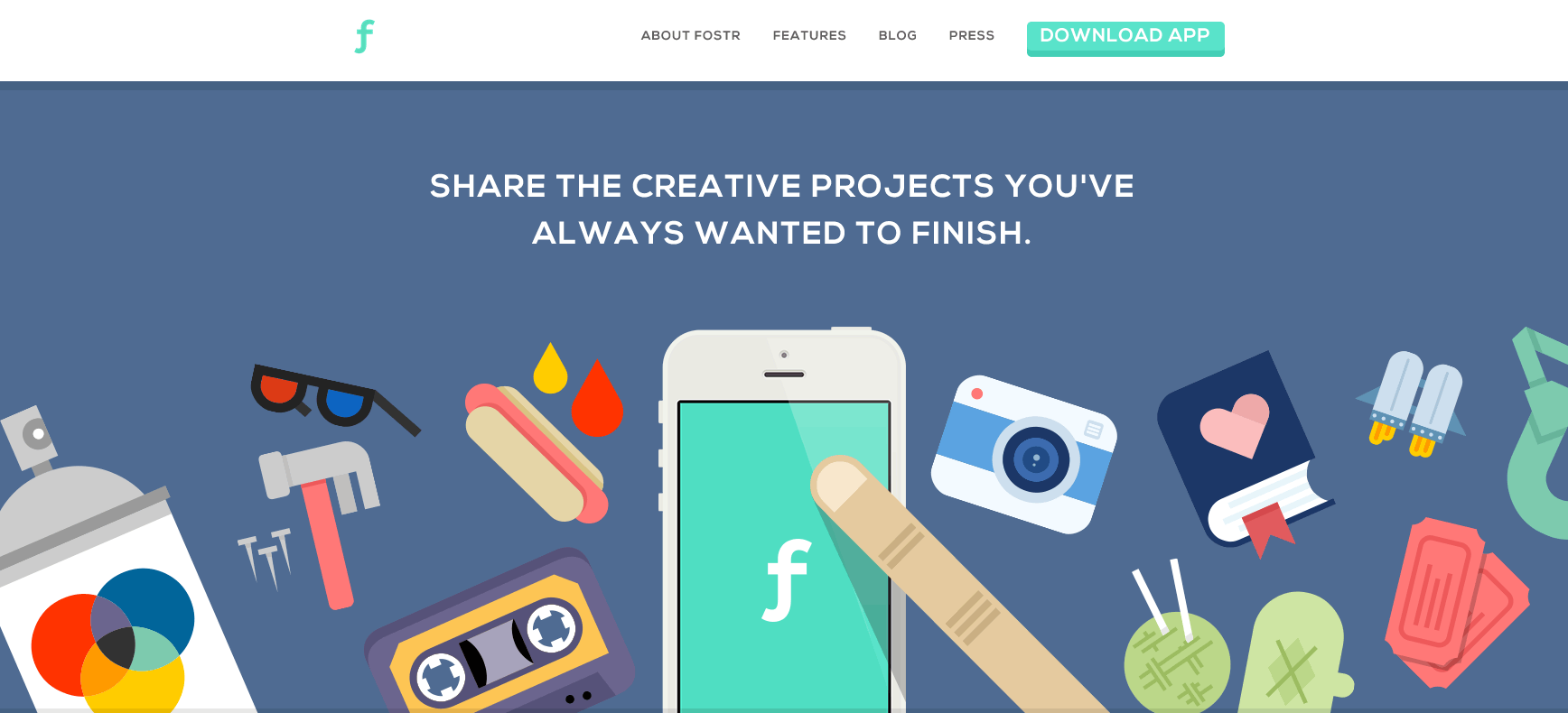share the creative projects