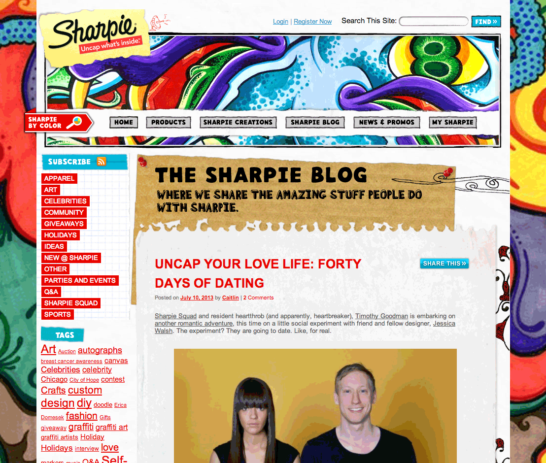 the sharpie blog