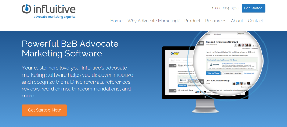 Advocate Marketing Software   Influitive