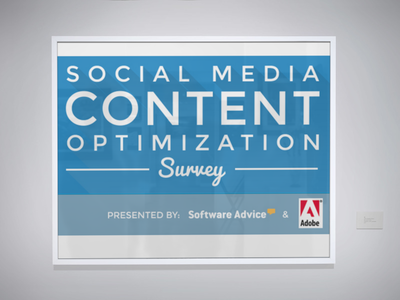 social media optimization survey - placeit