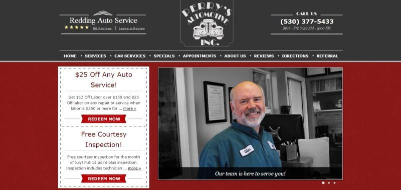 Perrys-website