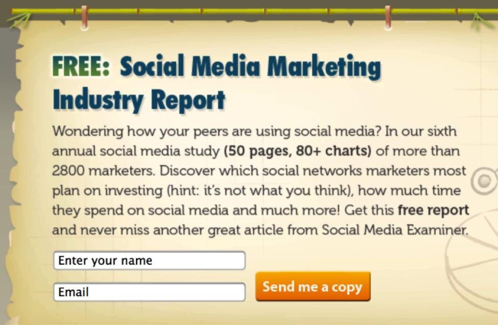 Social Media Examiner CTA
