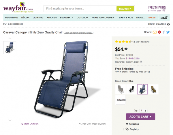 wayfair direct