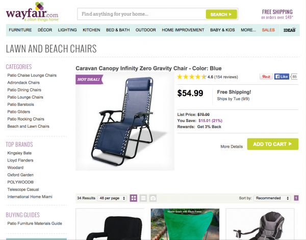 wayfair hot deal more products