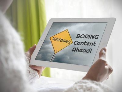warning boring content - placeit