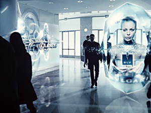 minority report ads future