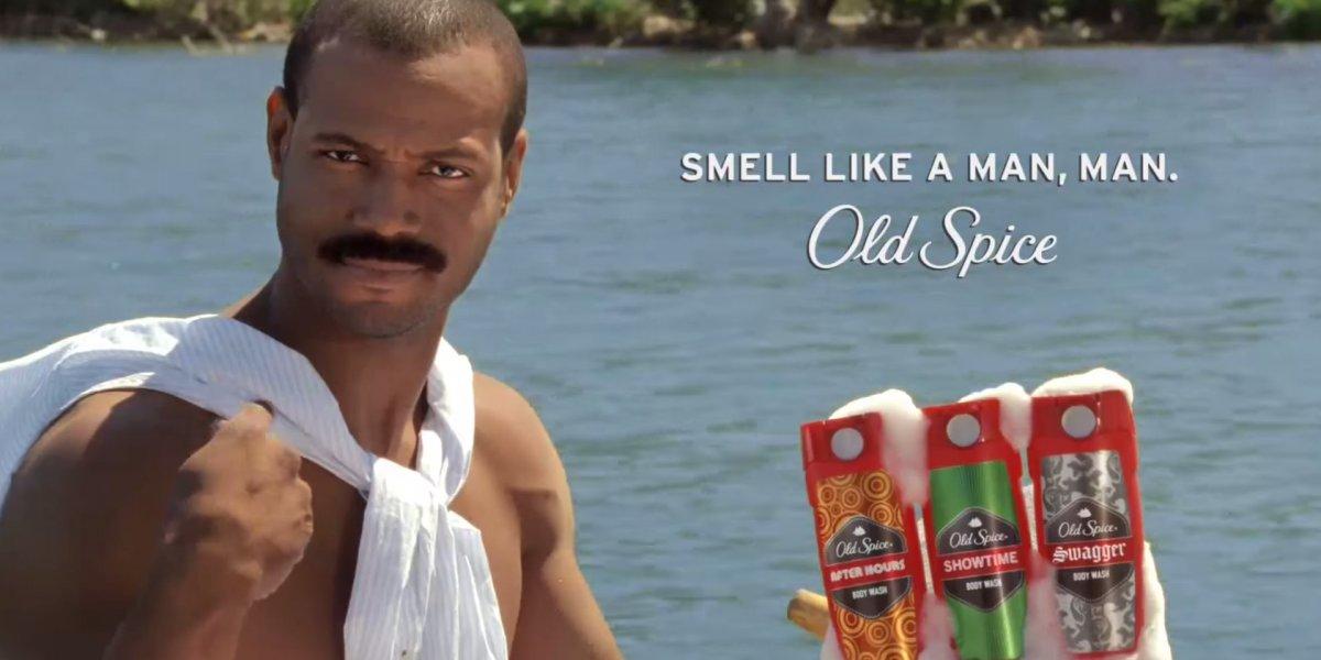 smell like a man