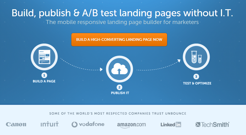 landing page value proposition