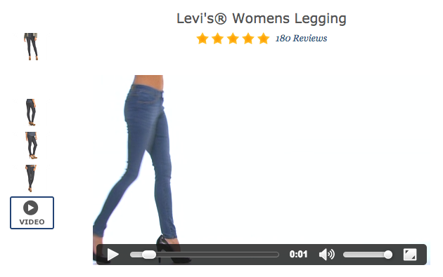 Zappos product video increases conversions