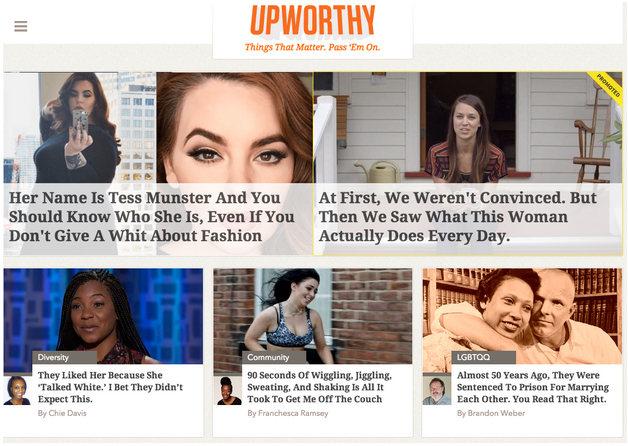 upworthy screenshot