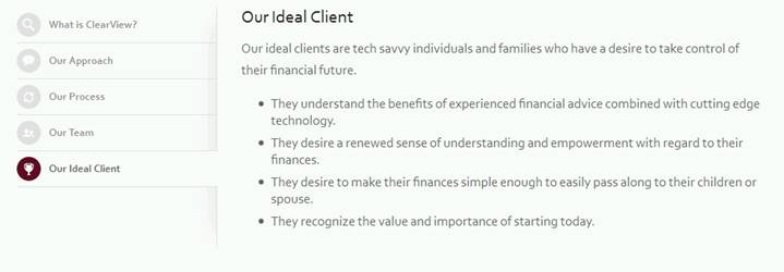 ideal client page 2
