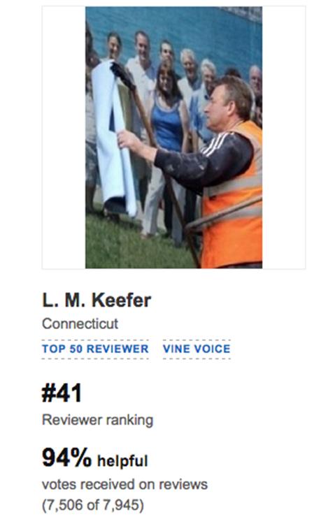 LM Keefer