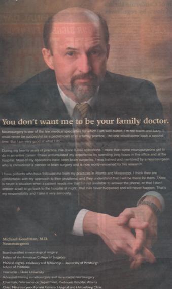 unfriendly doctor
