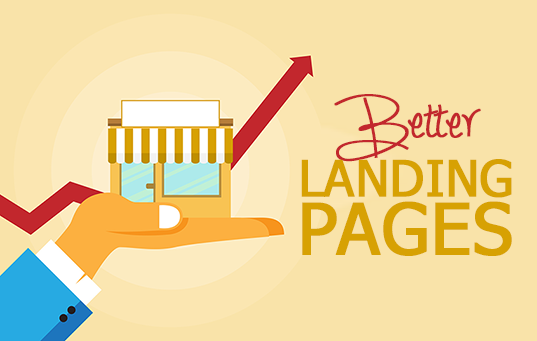 BETTER landing pages feature