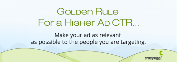 golden rule ad ctr