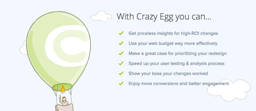 Crazy Egg copy