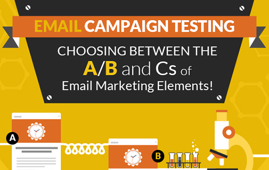 ab testing emails feature