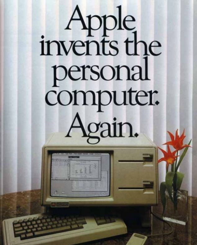 vintage apple ad tone of voice