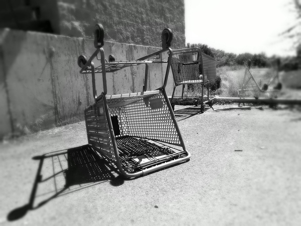 shopping cart abandoned