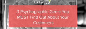 3 psychographic gems you must find out about customers