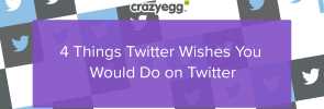 four things twitter wishes you would do on twitter
