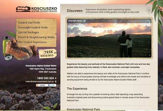 Kosciuszko Guided Walks