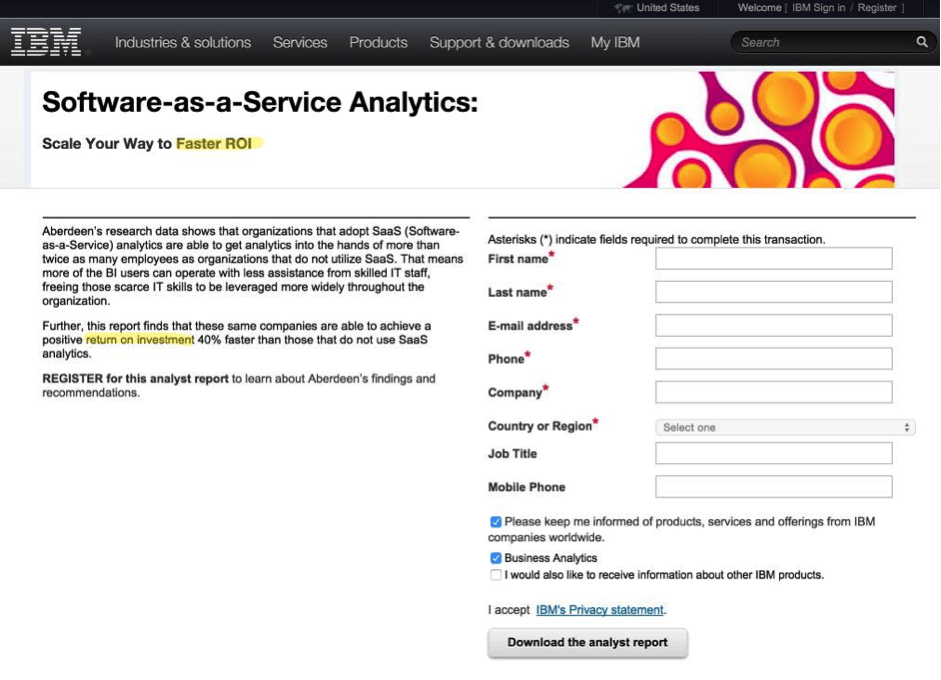 saas-analytics-ibm